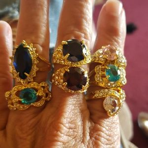 Jewelry - 7 gorgeous fashion rings
